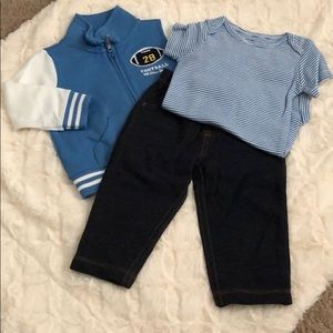 Carter's 3-piece matching set